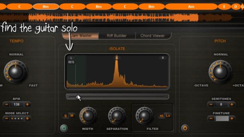 Capture d'écran Riffstation Mac