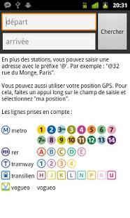 Capture d'écran Métro 01 (Paris)