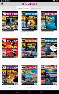 Capture d'écran KR Home Studio – Magazine