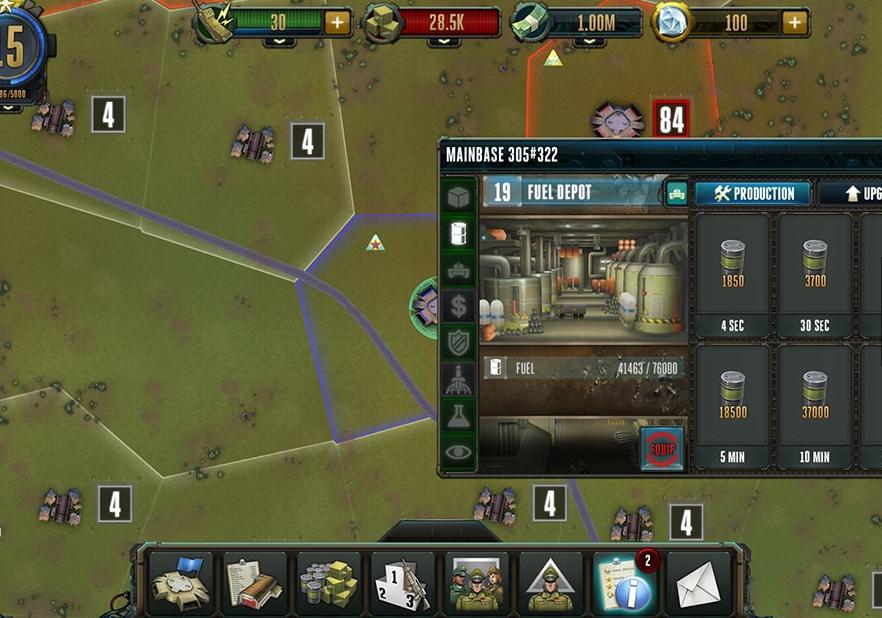 Capture d'écran Rising Generals