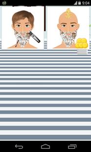 Capture d'écran Barbe Salon Jeux