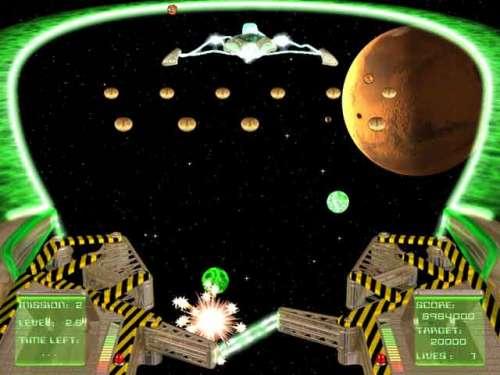 Capture d'écran WildSnake Pinball: INVASION