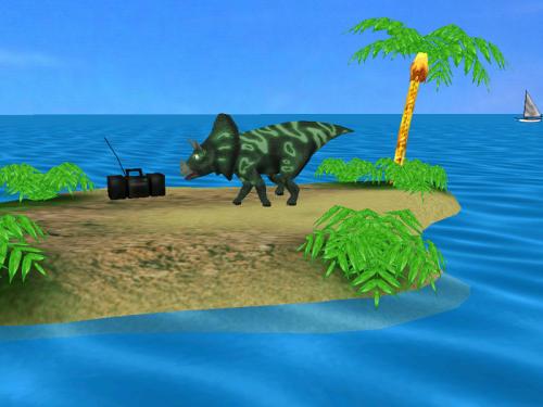 Capture d'écran Dino Island