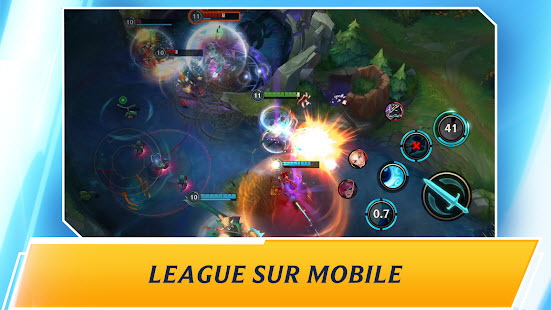 Capture d'écran League of Legends Android