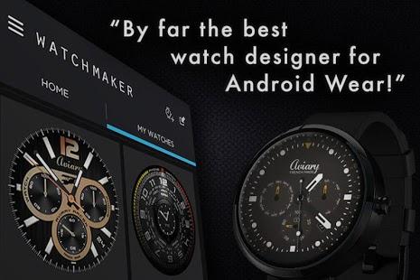 Capture d'écran WatchMaker Premium Watch Face