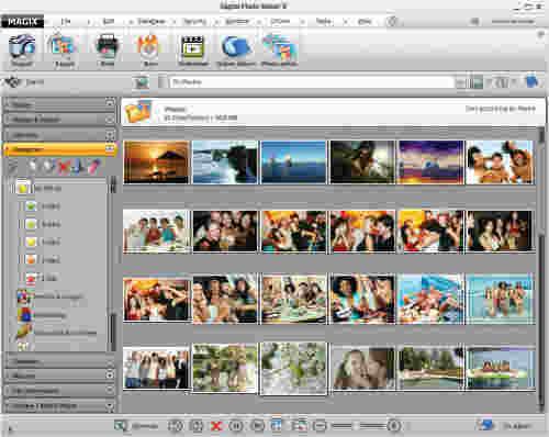 Capture d'écran MAGIX Digital Photo Maker