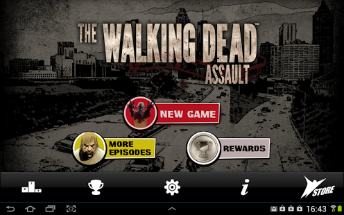 Capture d'écran The Walking Dead: Assault