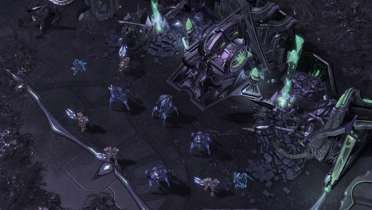 Capture d'écran Starcraft 2 : Legacy of the Void Mac