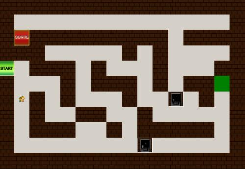 Capture d'écran Labyrinthe Game