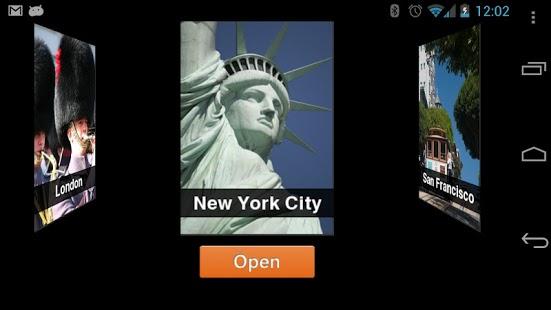 Capture d'écran TripAdvisor City Guides iOS