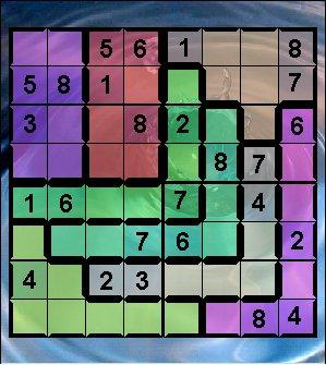 Capture d'écran Sudoku1