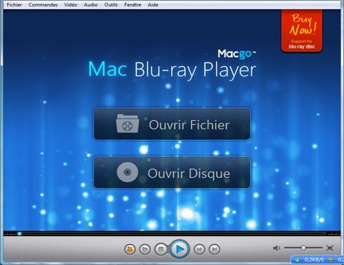 Capture d'écran Macgo Windows Blu-ray Player