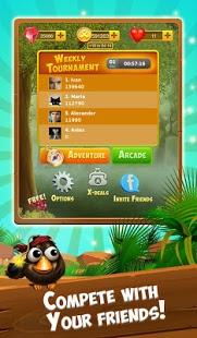 Capture d'écran Bubble Shooter Birds