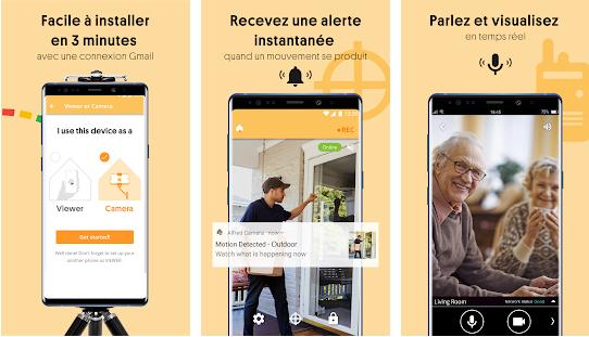 Capture d'écran Sécurité vidéosurveillance Android