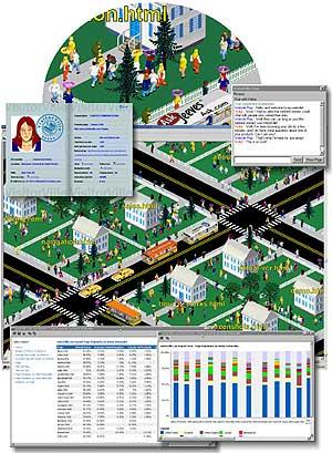 Capture d'écran VisitorVille