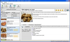 Capture d'écran DoDau_Recettes
