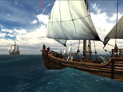 Capture d'écran Voyage of Columbus 3D Screensaver