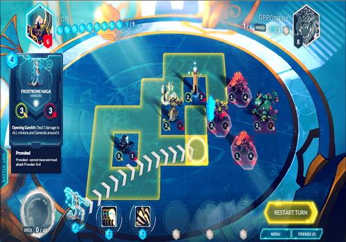 Capture d'écran Duelyst
