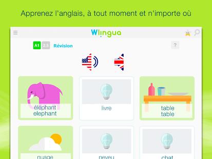 Capture d'écran Wlingua