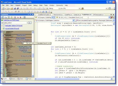 Capture d'écran Code Summarizer
