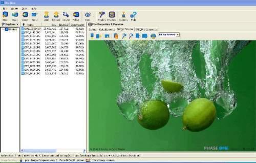 Capture d'écran BLUBOX Vault