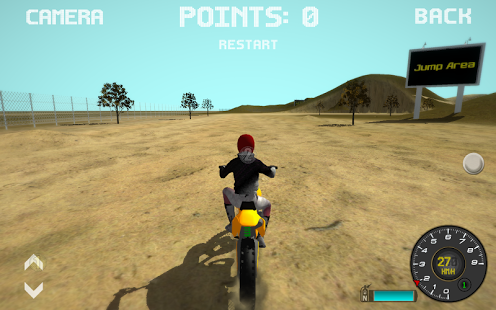 Capture d'écran Motocross Moto Simulator