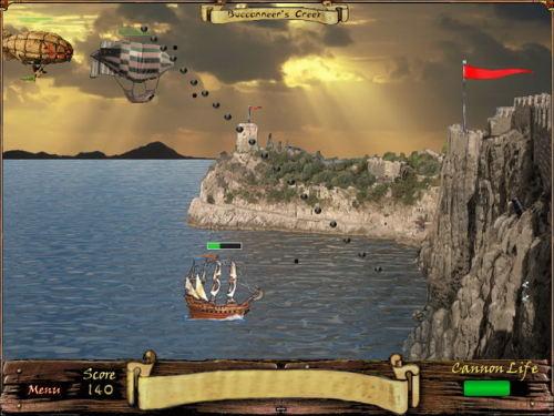 Capture d'écran Pirate Cliff