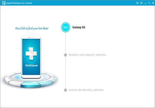 Capture d'écran EaseUS MobiSaver for Android Free
