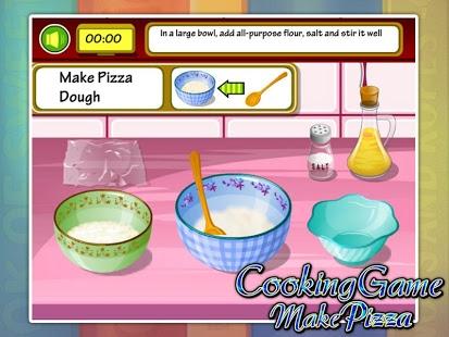 Capture d'écran Cooking Delicious Pizza