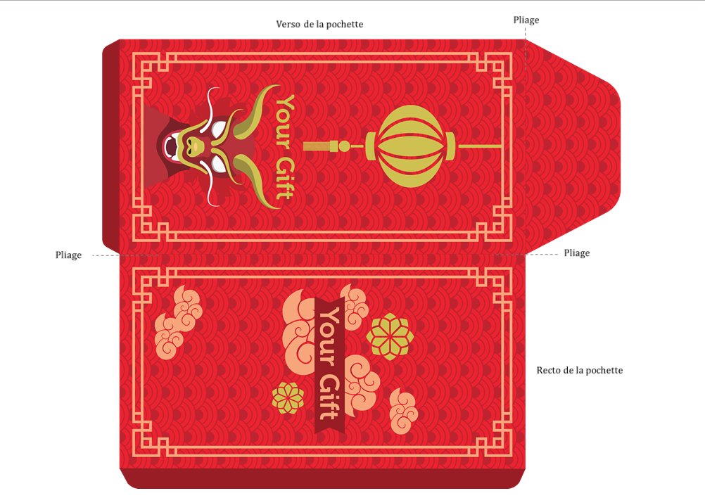 Capture d'écran Pochette carte cadeau Dragon