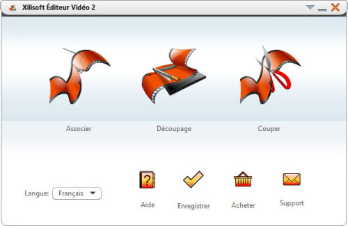 Capture d'écran Xilisoft Editeur Vidéo