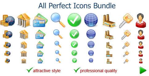 Capture d'écran All Perfect Icons