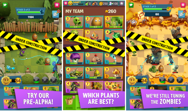 Capture d'écran Plants vs Zombies 3 Android