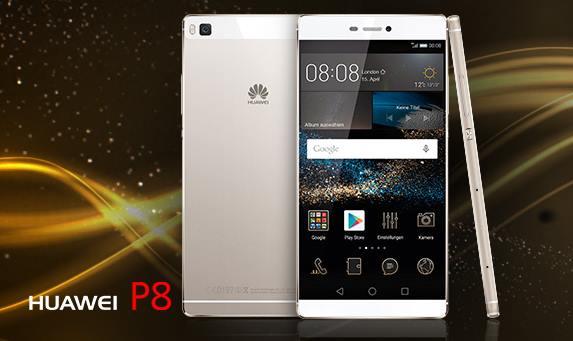 Capture d'écran Huawei P8