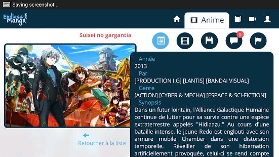 Capture d'écran Anime Vostfr – Endless Manga
