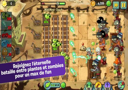 Capture d'écran Plants Vs. Zombies 2 Android