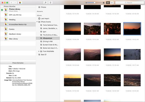 Capture d'écran PowerPhotos