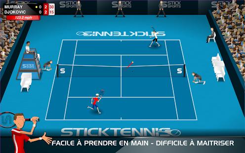 Capture d'écran Stick Tennis