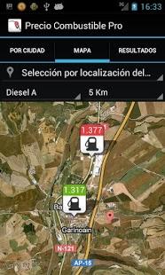 Capture d'écran Combustible (ESP) Pro