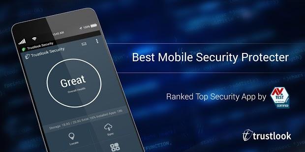 Capture d'écran Antivirus et sécurité mobile