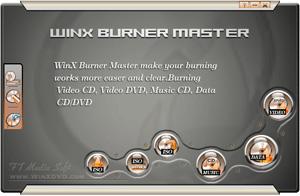 Capture d'écran WinX Burner Master