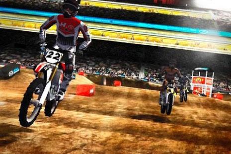 Capture d'écran 2XL Supercross HD