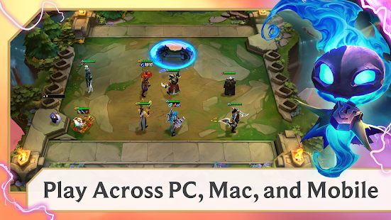 Capture d'écran Teamfight Tactics Android