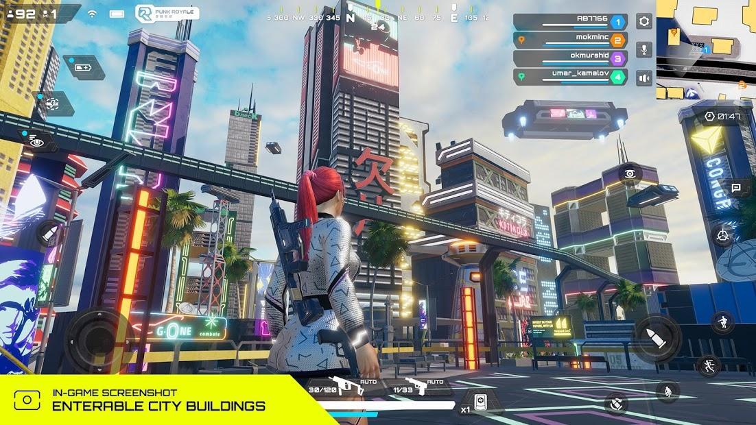 Capture d'écran Punk Royale 2052 : A cyberpunk Battle Android