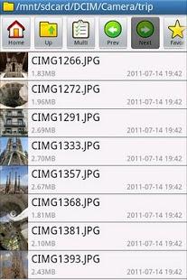 Capture d'écran File Manager