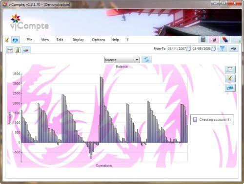 Capture d'écran viCompte