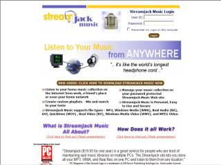 Capture d'écran Streamjack Music