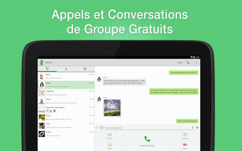 Capture d'écran Talkray Appels textos gratuits