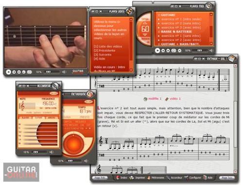 Capture d'écran Methode de guitare – Vol I