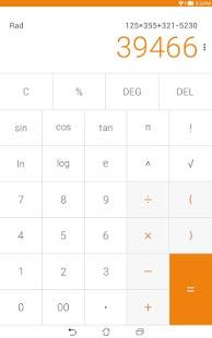 Capture d'écran Calculator – Widget